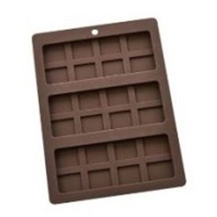 Harold Import Company Inc. HIC Silicone Chocolate Bar Mold