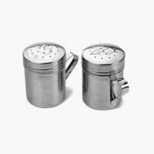 RSVP RSVP Stainless Steel Salt & Pepper Shakers 10 oz