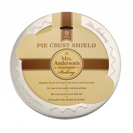 Harold Import Company Inc. HIC Mrs. Anderson Pie Crust Shield 9 inch