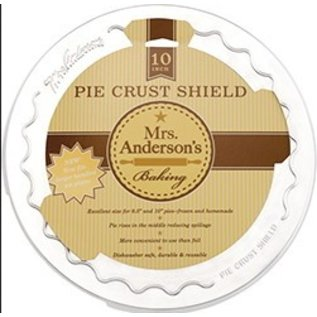 Harold Import Company Inc. HIC Mrs. Anderson Pie Crust Shield 10 inch
