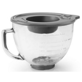 KitchenAid KitchenAid 5Qt Glass Bowl w/Lid K5GB