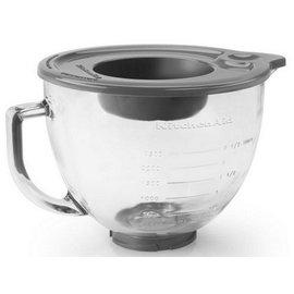 KitchenAid KitchenAid 5Qt Glass Bowl w/Lid KSM5GB