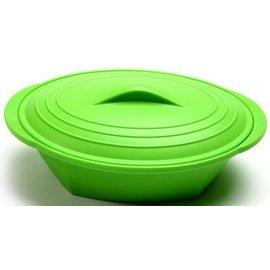 Norpro Norpro Silicone Steamer With Insert Green