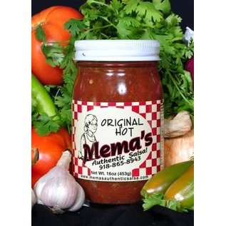 Mema's Salsa Mema's Salsa Original Hot MIO