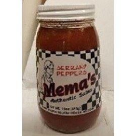 Mema's Salsa Mema's Salsa Serrano MIO