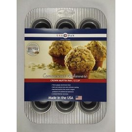 USA Pans USA Pans 12 Cup Crown Muffin Pan