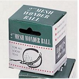 "Harold Import Company Inc. HIC Stainless Steel Mesh Wonder Ball Tea Infuser 2"""