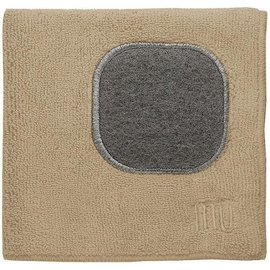 "MUkitchen MUkitchen MUcloth with Scrubber Flax 12"" x 12"""