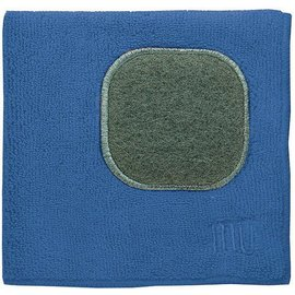 "MUkitchen MUkitchen MUcloth with Scrubber Blueberry 12"" x 12"""