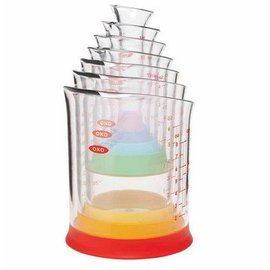 OXO OXO 7pc Liquid Measuring Beakers Set