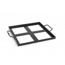 Companion Group Companion Group Salt Plate Holder for 5 inch set of 4 plates