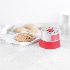 Trudeau Trudeau Manual Kitchen Timer Red - CLOSEOUT