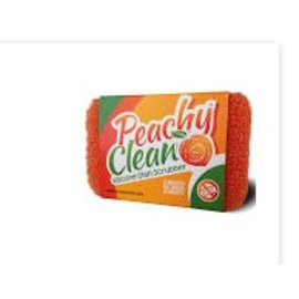 Harold Import Company Inc. HIC Peachy Clean Silicone Scrubber Single