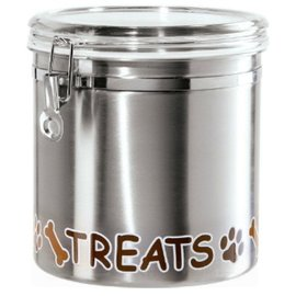 OGGI OGGI Stainless Pet Treats Canister 150 oz