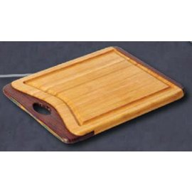 Island Bamboo Rainbow Utility Board 11x9 inch with Handle