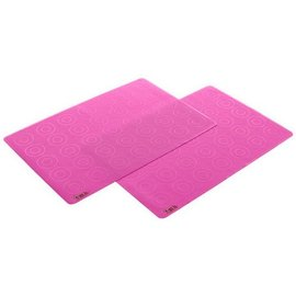 Zoli Zoli Travel 11x16 inch Placemats Set of 2 Pink SLOW SELLER
