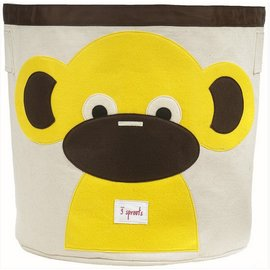 3 Sprouts 3 Sprouts Storage Bin Monkey