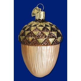 Old World Christmas OWC Large Acorn CLOSEOUT