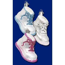Old World Christmas OWC Baby Shoe CLOSEOUT
