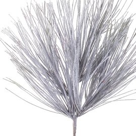 Melrose Melrose Long Needle Snowy Pine Spray 30 inch