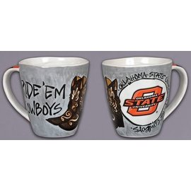 Magnolia Lane Magnolia Lane OSU Ride 'Em Cowboys Artwork Mug 16 oz