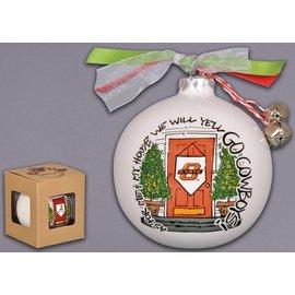 Magnolia Lane Magnolia Lane OSU My House Ornament