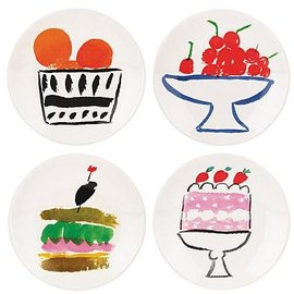 Kate Spade New York Kate Spade NY Appetizer Plates set of 4 Pretty Pantry CLOSEOUT