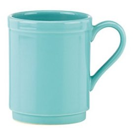 Kate Spade New York Kate Spade NY Mug Sculpted Scallop Turquoise CLOSEOUT