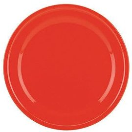 Kate Spade New York Kate Spade NY Dinner Plate Sculpted Scallop Red CLOSEOUT