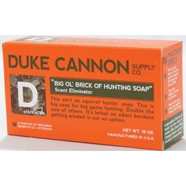 Duke Cannon Supply Co Duke Cannon Big Ol' Brick of Hunting Soap Scent Eliminator