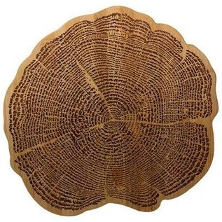 Totally Bamboo Totally Bamboo Tree of Life Cutting and Serving Board 13 inch
