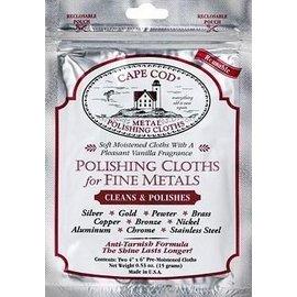 Cape Cod Polish Cape Cod Polish Polishing Cloth for Fine Metals Foil Pouch