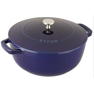Staub Staub Essential French Oven Round 3.75 Qt Dark Blue