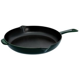 Staub Staub Cast Iron Fry Pan 10 inch Basil