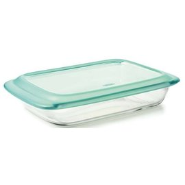 OXO OXO Glass Baking Dish with Lid 3 Qt Rectangular
