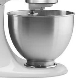 KitchenAid KitchenAid 4.5Qt Bowl Polished Stainless W/Handle K45SBWH