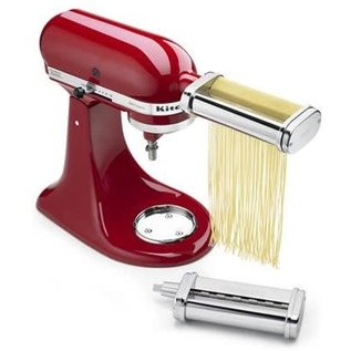 KitchenAid KitchenAid Stand Mixer Attachment Pasta Cutter Set (angel hair and thick noodle cutters) KPCA