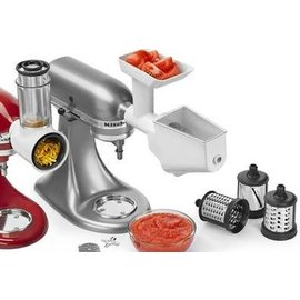 KitchenAid KitchenAid Stand Mixer Attachment Bundle Fresh Prep & Food Grinder Strainer KSMFPPA