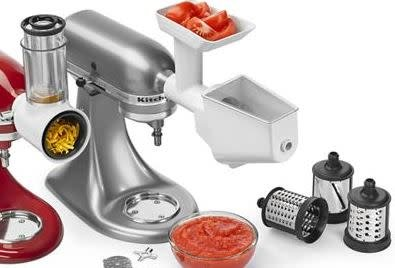 KitchenAid Stand Mixer Attachment Bundle Fresh Prep & Food Grinder Strainer  KSMFPPA