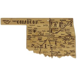 Totally Bamboo Totally Bamboo Destination Oklahoma Cutting and Serving Board