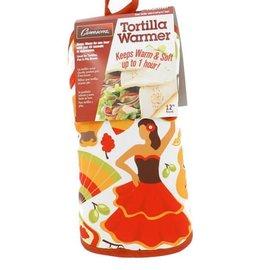 Camerons Camerons Tortilla Warmer Fiesta Design 12 inch
