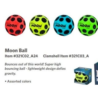 Waboba Moon Ball Hyper Bouncing Ball Assorted
