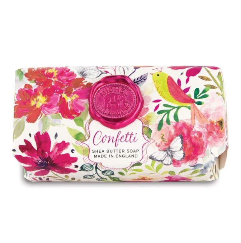 Michel Design Works Bath Soap Bar Confetti