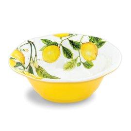 Michel Design Works Michel Design Works Melamine Serveware Medium Bowl Lemon Basil