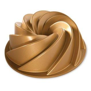 Nordic Ware Nordic Ware Heritage Bundt Pan 10 Cup Gold