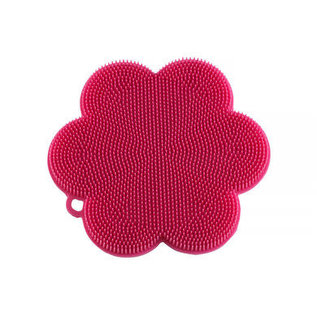 Kuhn Rikon Kuhn Rikon Stay Clean Silicone Scrubber Flower Assorted