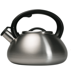 Primula Primula Avalon 2.5 Qt Whistling Kettle Brushed Stainless