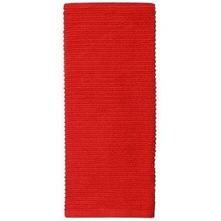 MUkitchen MUkitchen Ridged Cotton Dish Towel Ruby