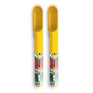 Prepara Prepara Taco Spoon set of 2 Yellow