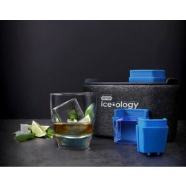 Dexas ice•ology 2 Count Clear Ice Tray Cube